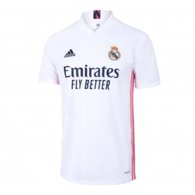 Mens Real Madrid Home Shirt 20/21 - White