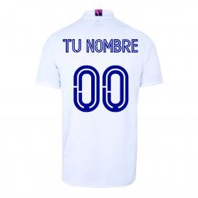 Aanpasbaar - Heren Real Madrid Thuisshirt 20/21 - Wit