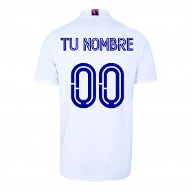 Personnalisable - Maillot Domicile Real Madrid 20/21 Homme - Blanc