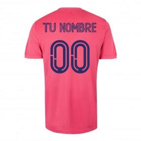 Personalize Adidas Real Madrid Away Shirt 20/21 - Pink