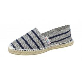 Alpargata 2337 Classic Stripes Navy Blue