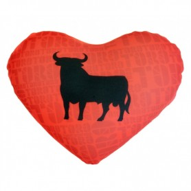 Peluche de Corazón Toro Osborne España 30 cm