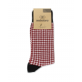 Mid Calf Houndstooth Socks